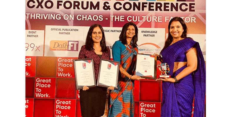 EWIS awarded three titles at Best Workplaces Sri Lanka 2020